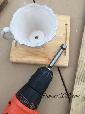 カップ&ソーサー や 割れたカップのリメイク 再利用法