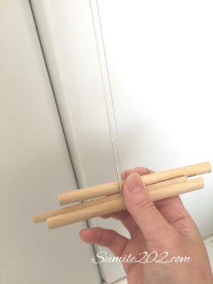 3本撚り紐の作り方
