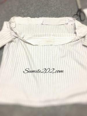 ワイシャツリメイク
