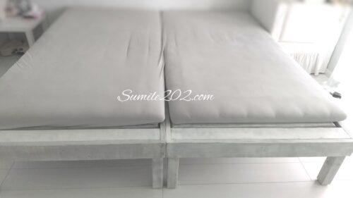 エアウィーブにあう手作りすのこベッド