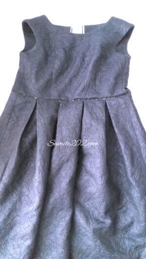 卒業式,セレモニー、手作りセレモニー服