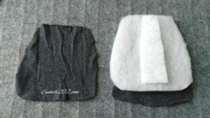 ランドセルの肩パッド・ベルトカバーの作り方
