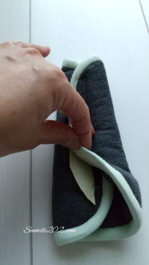 ランドセルの肩パッドを手作り ベルトカバー